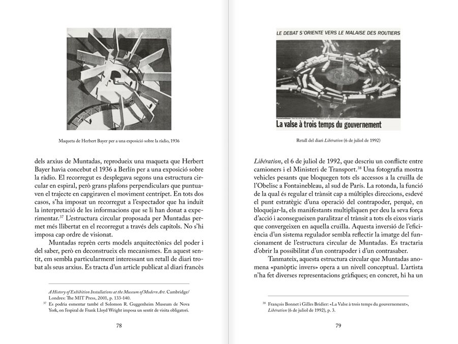 MUNTADAS. BETWEEN THE FRAMES: THE FORUM, pages 78 and 79