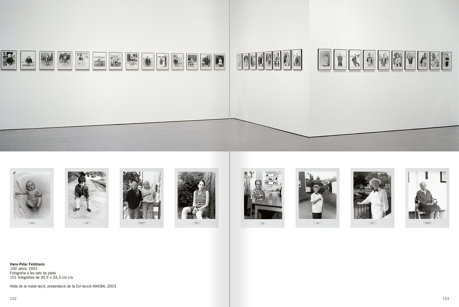 Selection from the catalogue 'Relational Objects. MACBA Collection 2002-07', pages 152 and 153