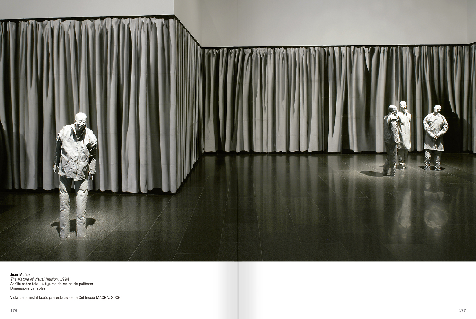 Selection from the catalogue 'Relational Objects. MACBA Collection 2002-07', pages 176 and 177