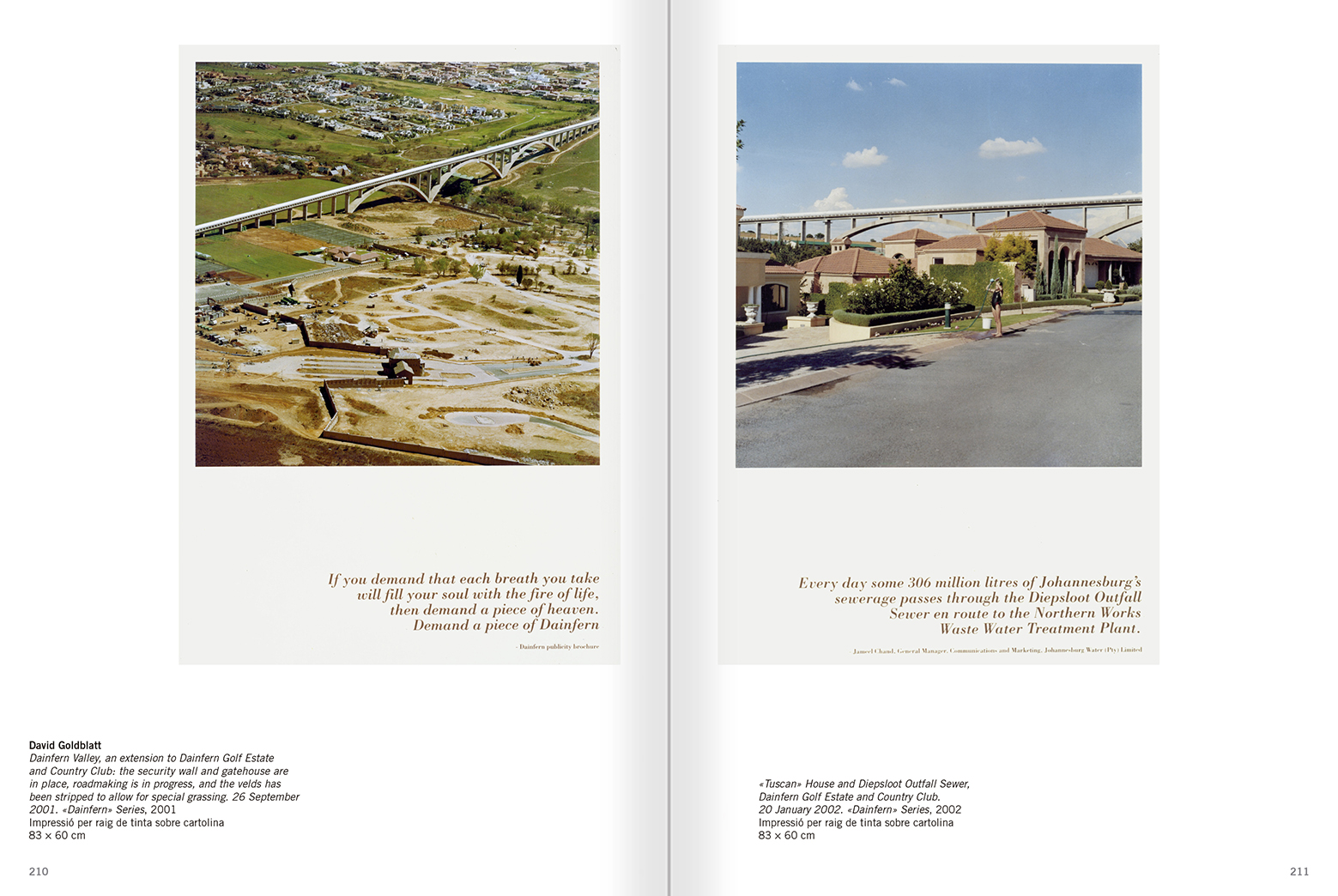 Selection from the catalogue 'Relational Objects. MACBA Collection 2002-07', pages 210 and 211