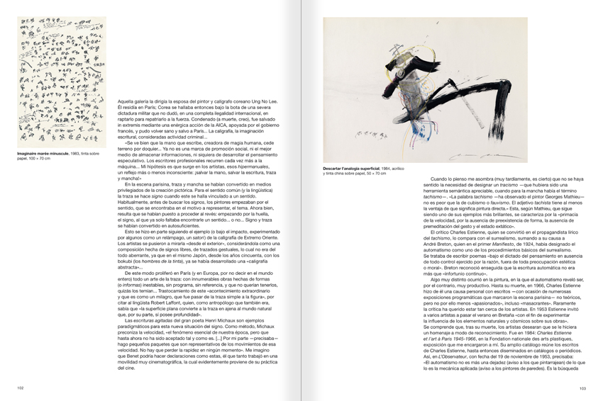 Selection from the catalogue 'Paralelo Benet Rossell', pages 102 and 103
