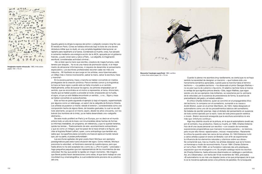 """Selecció del catàleg """"Paral·lel Benet Rossell"""" pàgines 102 i 103"""