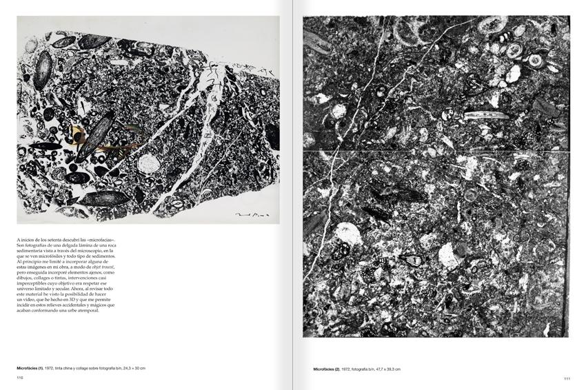"""Selecció del catàleg """"Paral·lel Benet Rossell"""" pàgines 110 i 111"""