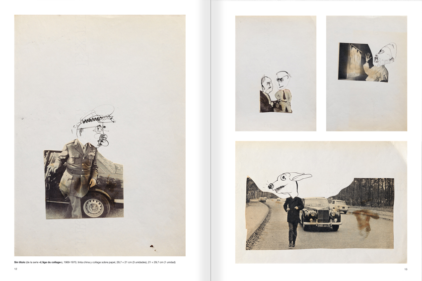 Selection from the catalogue 'Paralelo Benet Rossell', pages 12 and 13