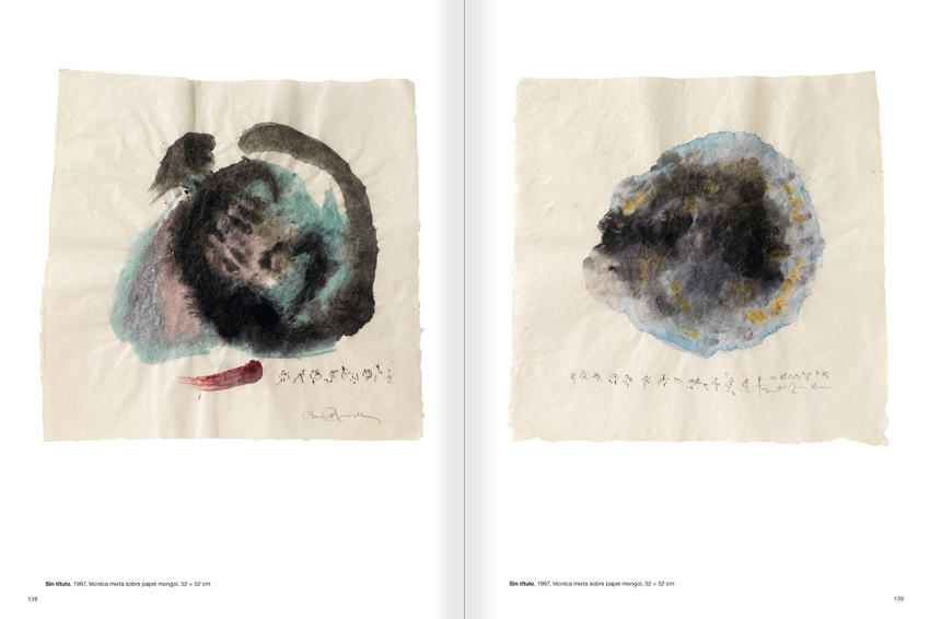 Selection from the catalogue 'Paralelo Benet Rossell', pages 138 and 139