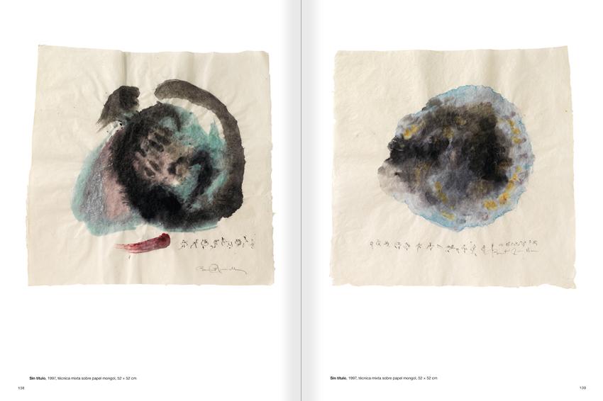 """Selecció del catàleg """"Paral·lel Benet Rossell"""" pàgines 138 i 139"""
