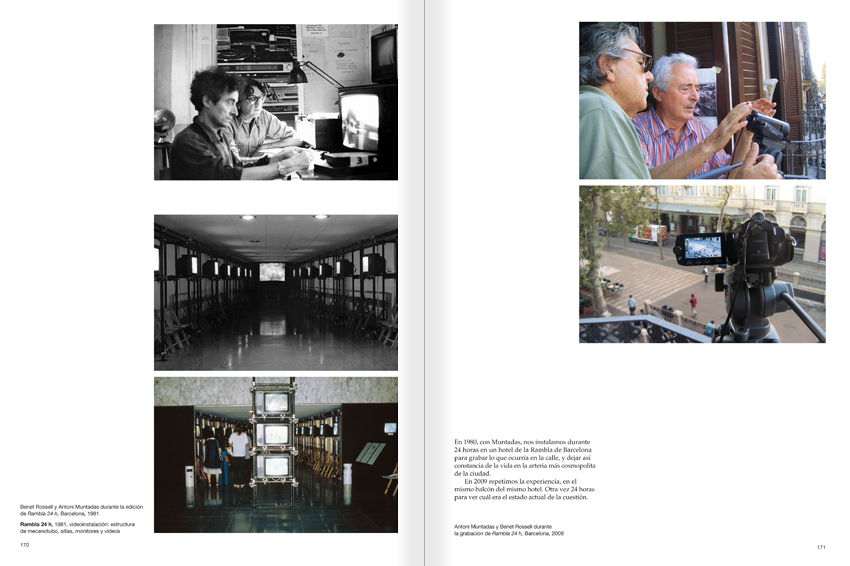 Selection from the catalogue 'Paralelo Benet Rossell', pages 170 and 171