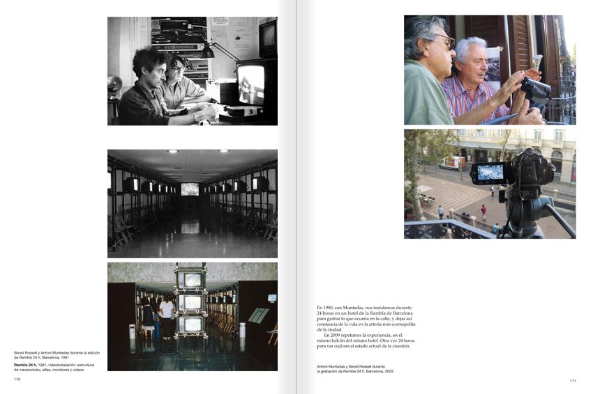 """Selecció del catàleg """"Paral·lel Benet Rossell"""" pàgines 170 i 171"""