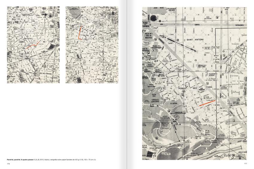 """Selecció del catàleg """"Paral·lel Benet Rossell"""" pàgines 176 i 177"""