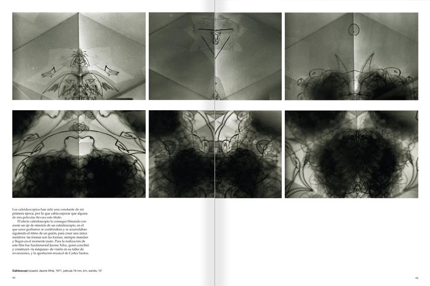 """Selección del catálogo """"Paralelo Benet Rossell"""" páginas 44 y 45"""