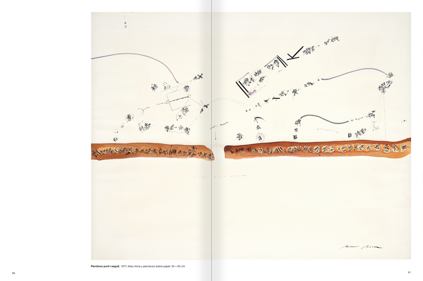 Selection from the catalogue 'Paralelo Benet Rossell', pages 80 and 81