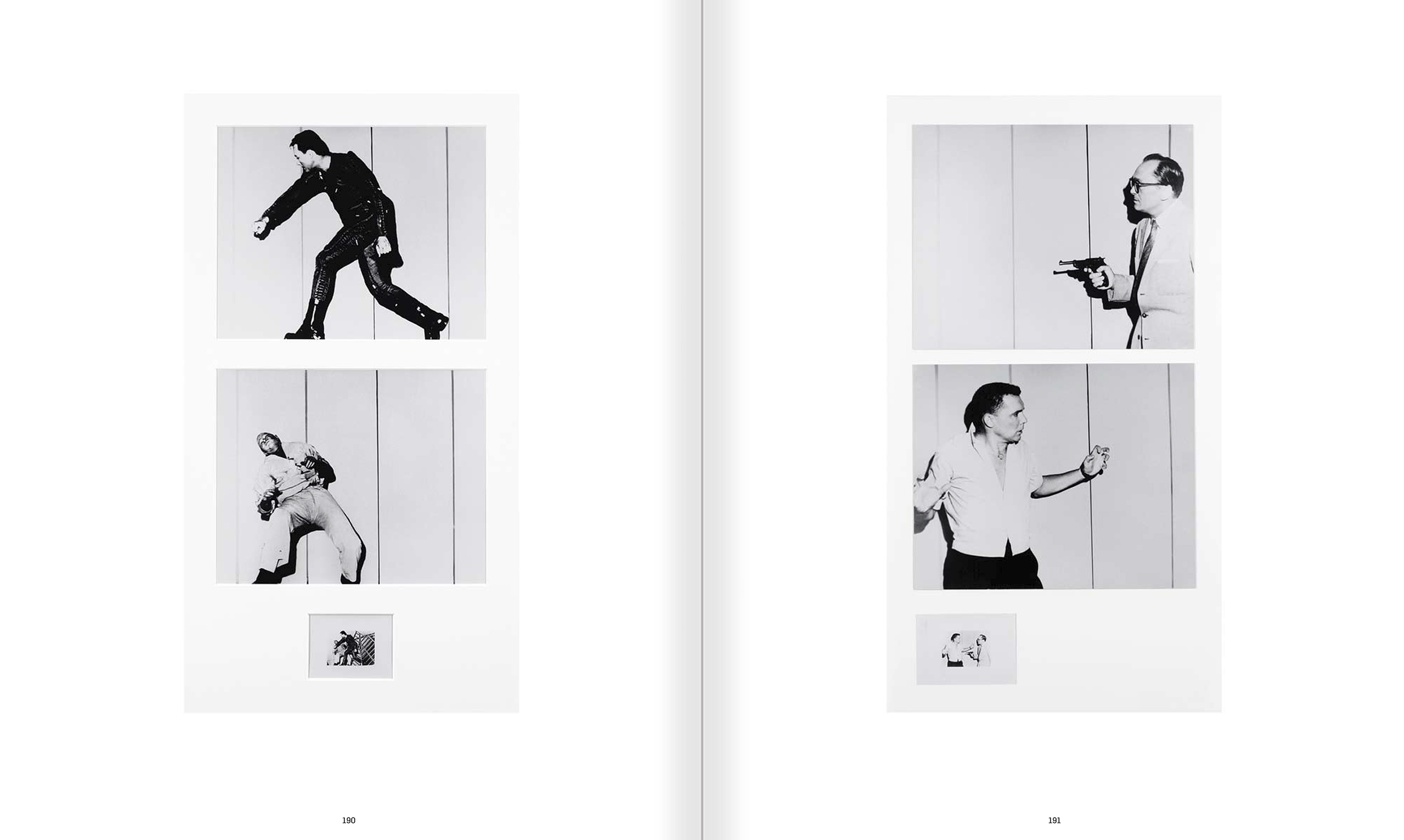 Selection from the catalogue 'John Baldessari. Pure Beauty', pages 190 and 191