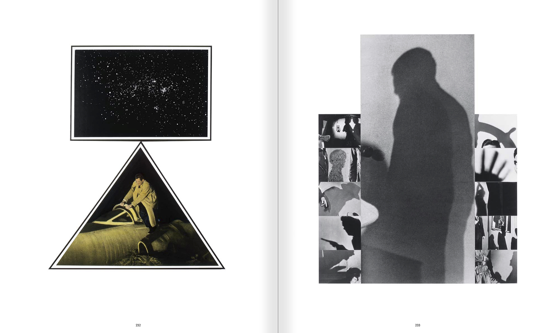 Selection from the catalogue 'John Baldessari. Pure Beauty', pages 232 and 233