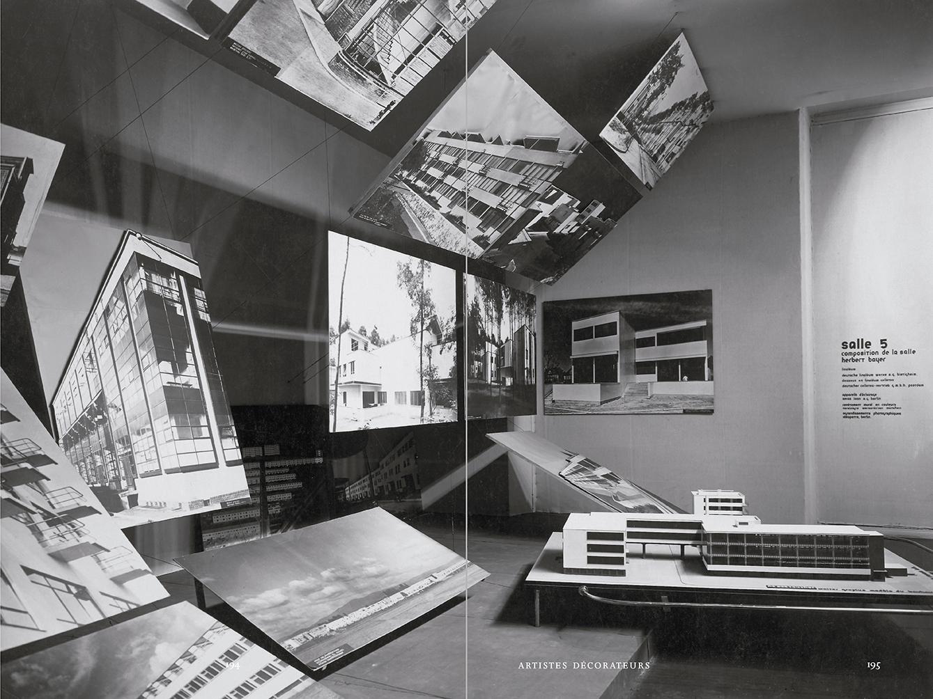"""Selección del catálogo """"Espacios fotográficos públicos. Exposiciones de propaganda, de Pressa a The Family of Man, 1928-1955"""" páginas 194 y 195"""
