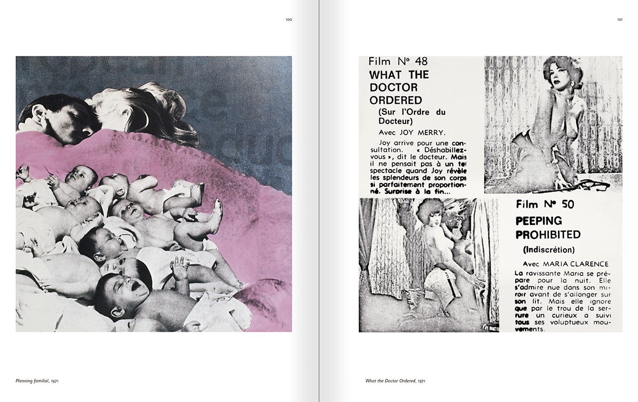 Selection from the catalogue 'Rabascall. Production 1964–82', pages 100 and 101