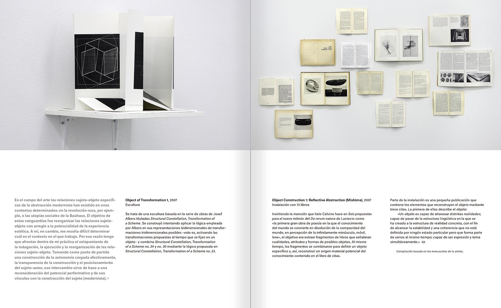 """Selección del catálogo """"Modernologías. Artistas contemporáneos investigan la modernidad y el modernismo"""" páginas 178 y 179"""