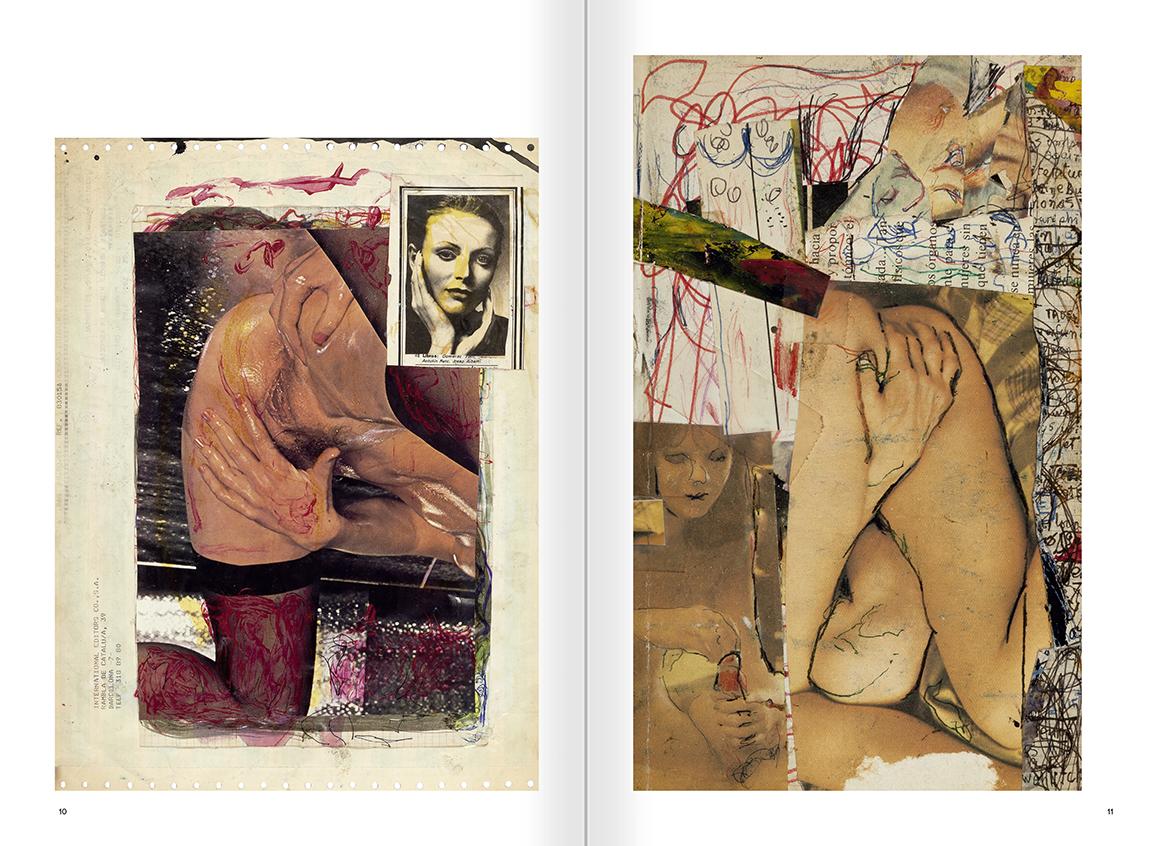 """Selecció del catàleg """"El sexo que habla. Osvaldo Lamborghini"""" pàgines 10 i 11"""