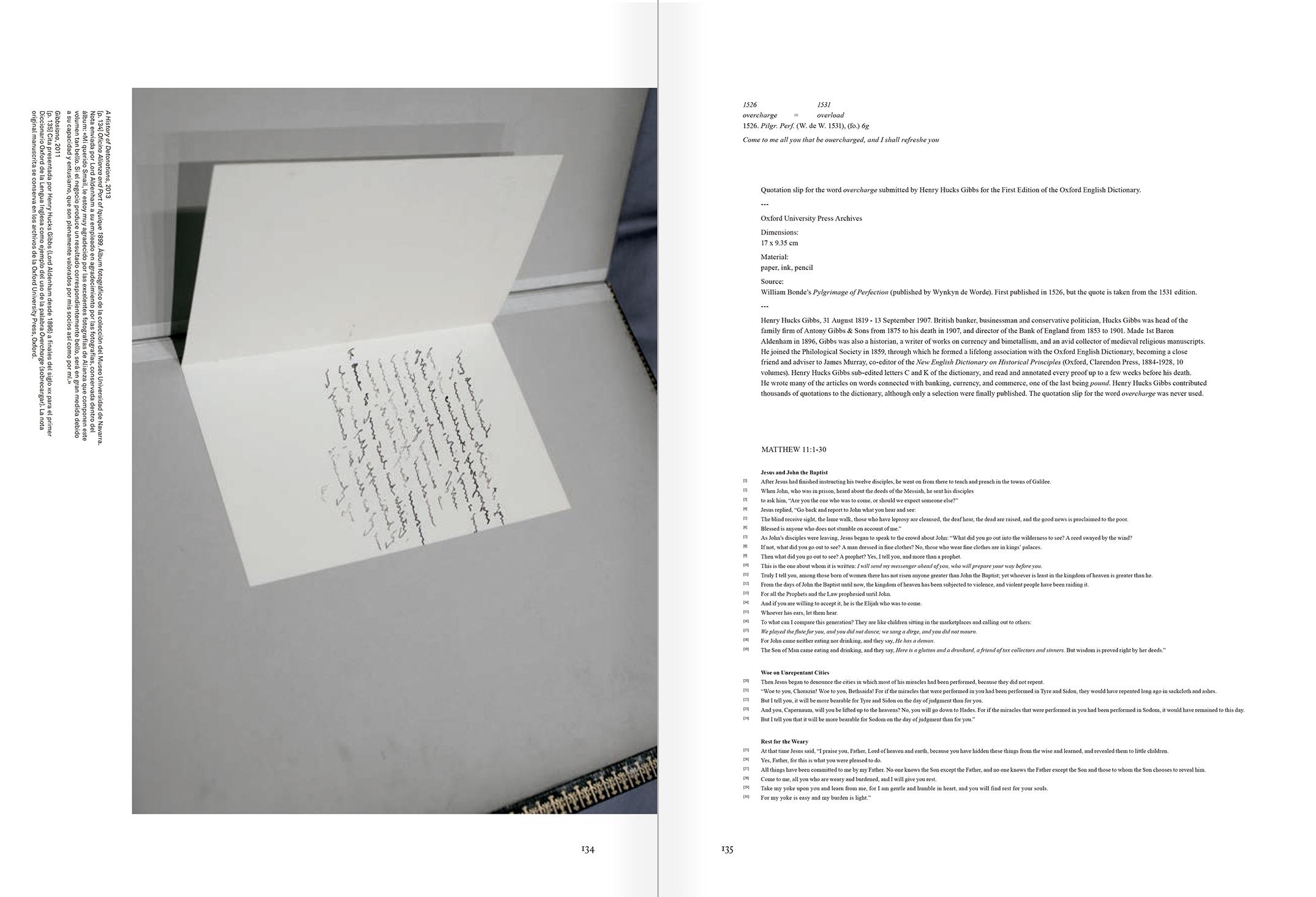 """Selección del catálogo """"Xavier Ribas. Nitrato"""" páginas 134 y 135"""