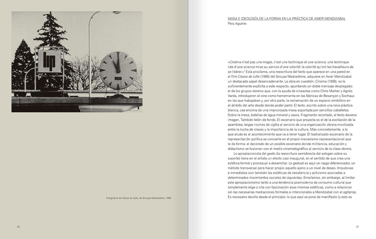 """Selecció del catàleg """"Asier Mendizabal"""" pàgines 20 i 21"""