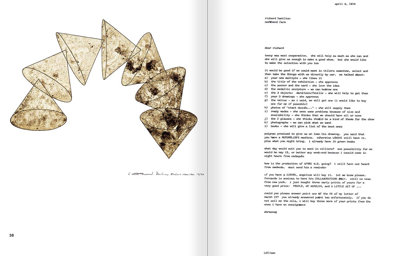 Selection from the catalogue 'Galeria Cadaqués. Obres de la Col·lecció Bombelli', pages 26 and 27