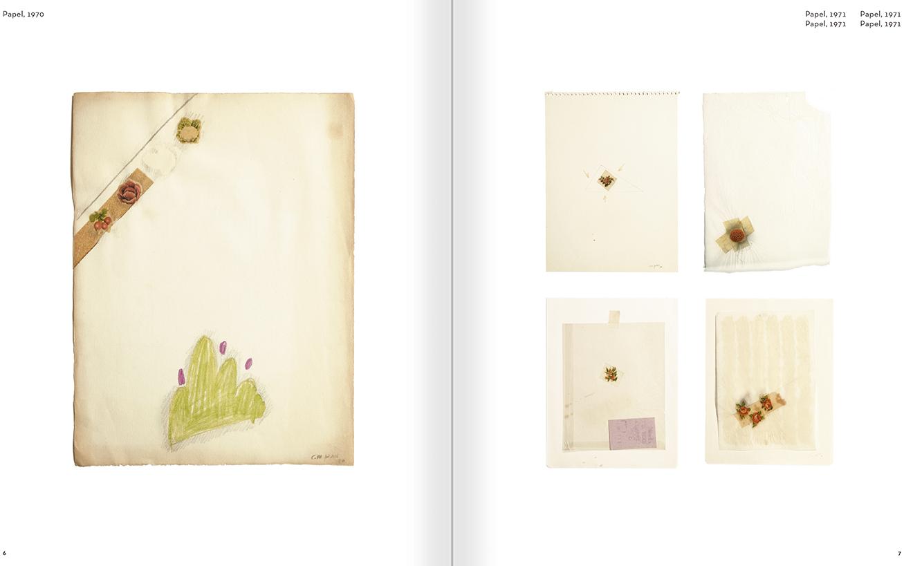 """Selección del catálogo """"Carlos Pazos. No me digas nada"""" páginas 06 y 07"""
