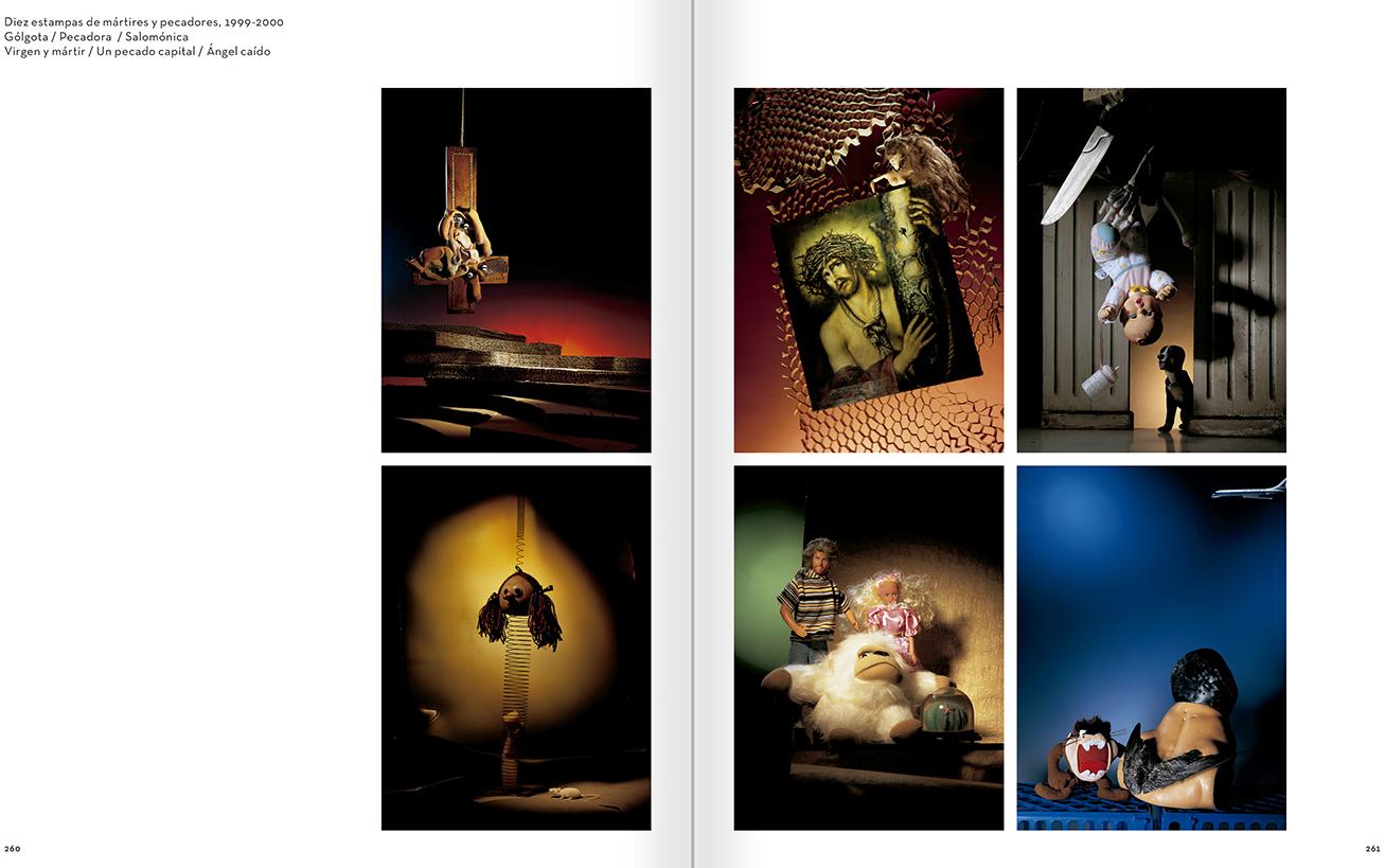 """Selección del catálogo """"Carlos Pazos. No me digas nada"""" páginas 260 y 261"""