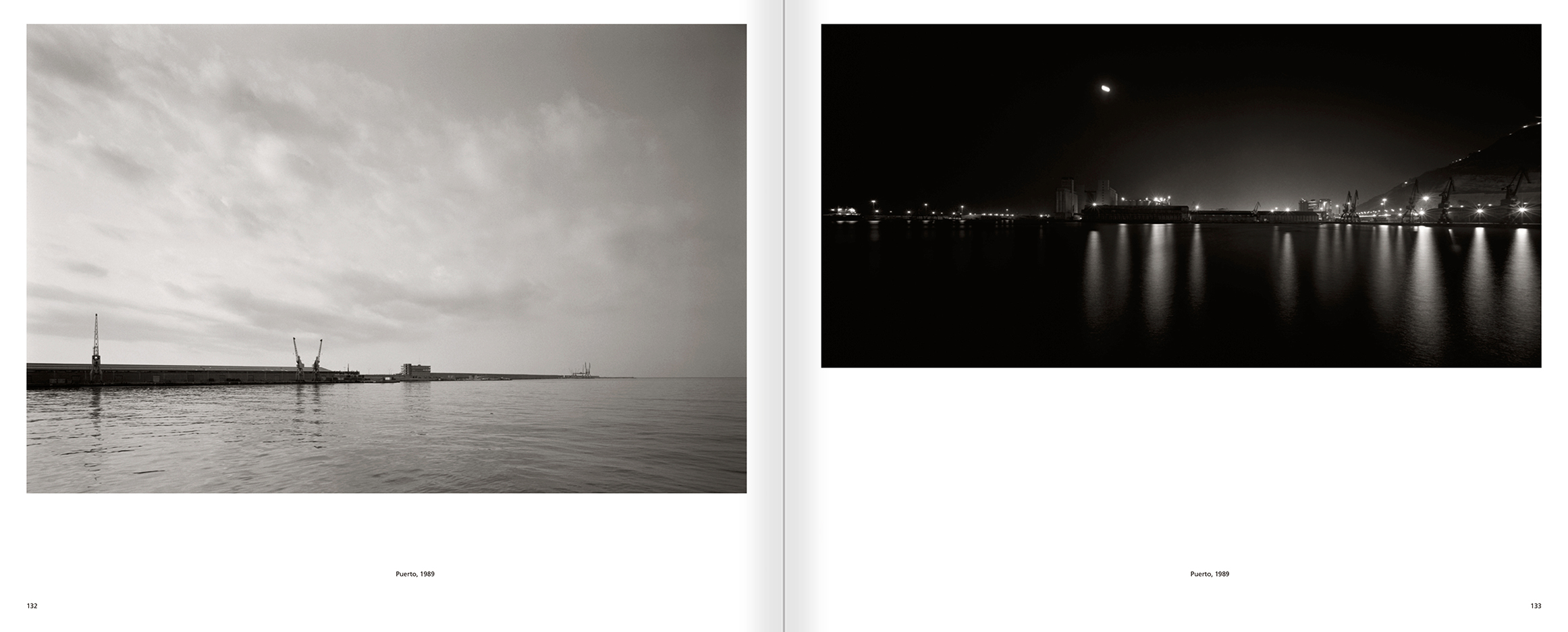 Selection from the catalogue 'Barcelona 1978-1997. Manolo Laguillo', pages 132 and 133