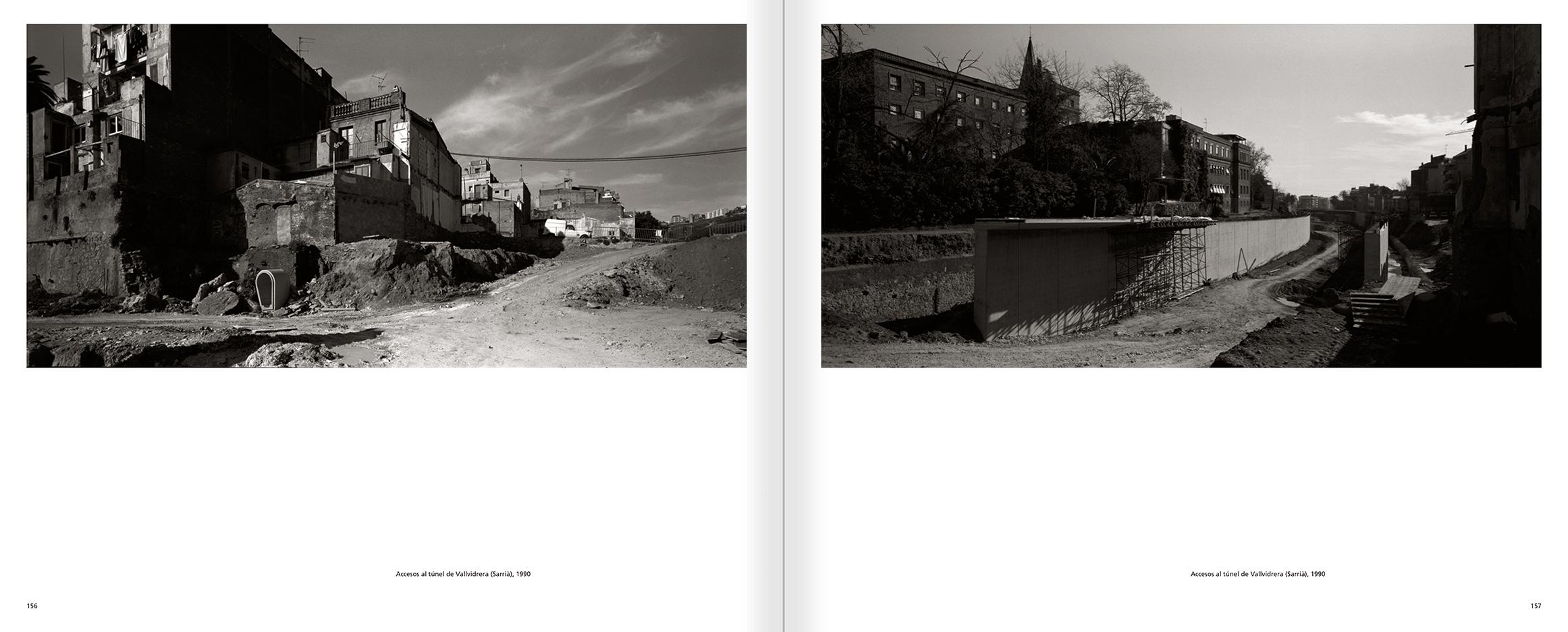 """Selecció del catàleg """"Barcelona 1978-1997. Manolo Laguillo"""" pàgines 156 i 157"""