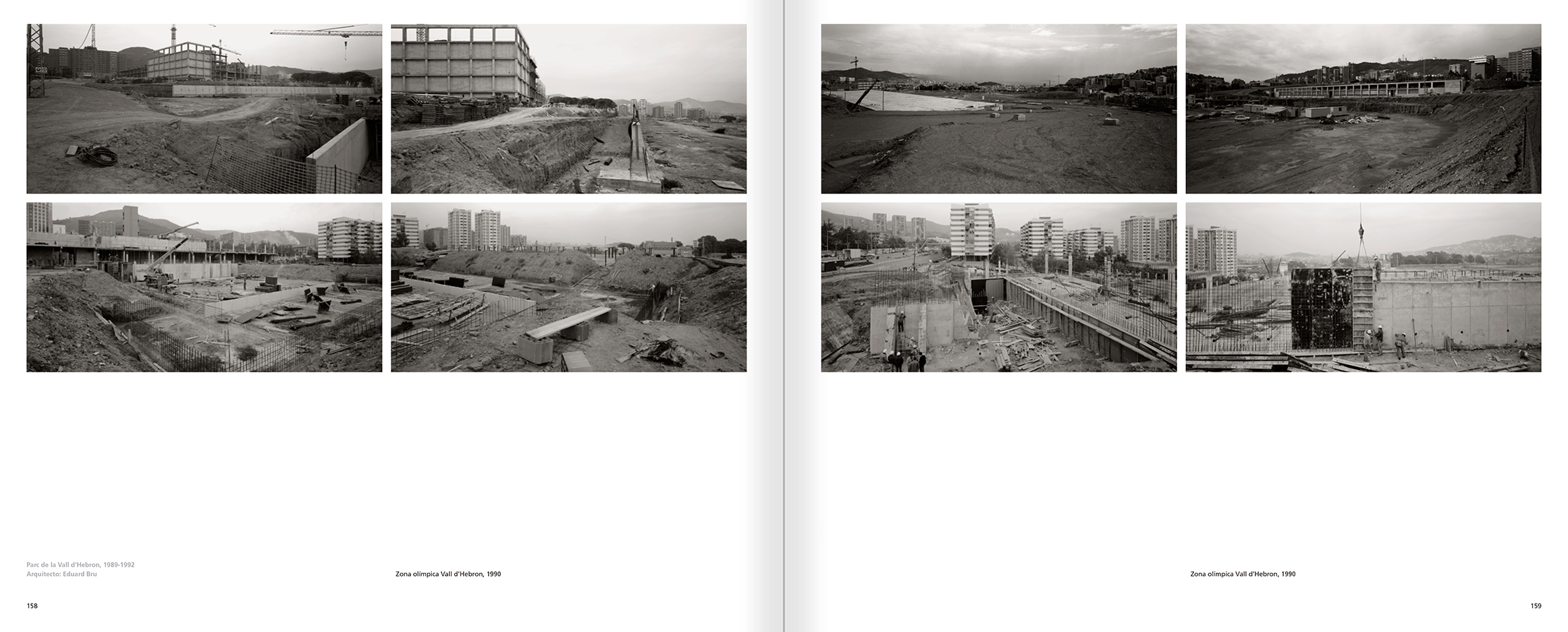 Selection from the catalogue 'Barcelona 1978-1997. Manolo Laguillo', pages 158 and 159