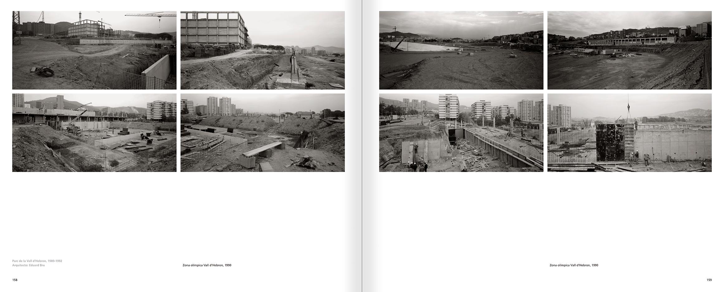 """Selecció del catàleg """"Barcelona 1978-1997. Manolo Laguillo"""" pàgines 158 i 159"""