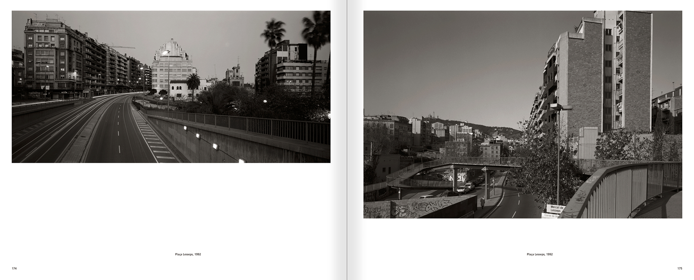 Selection from the catalogue 'Barcelona 1978-1997. Manolo Laguillo', pages 174 and 175
