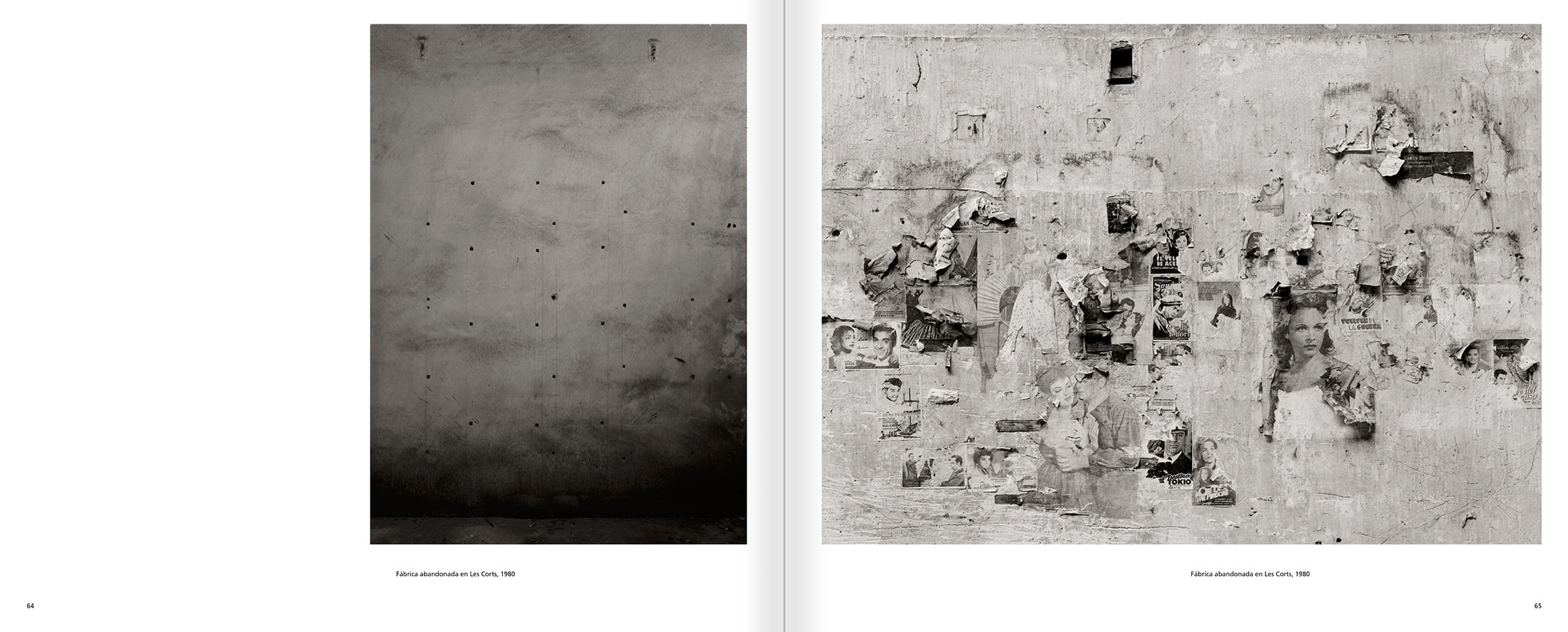 Selection from the catalogue 'Barcelona 1978-1997. Manolo Laguillo', pages 64 and 65