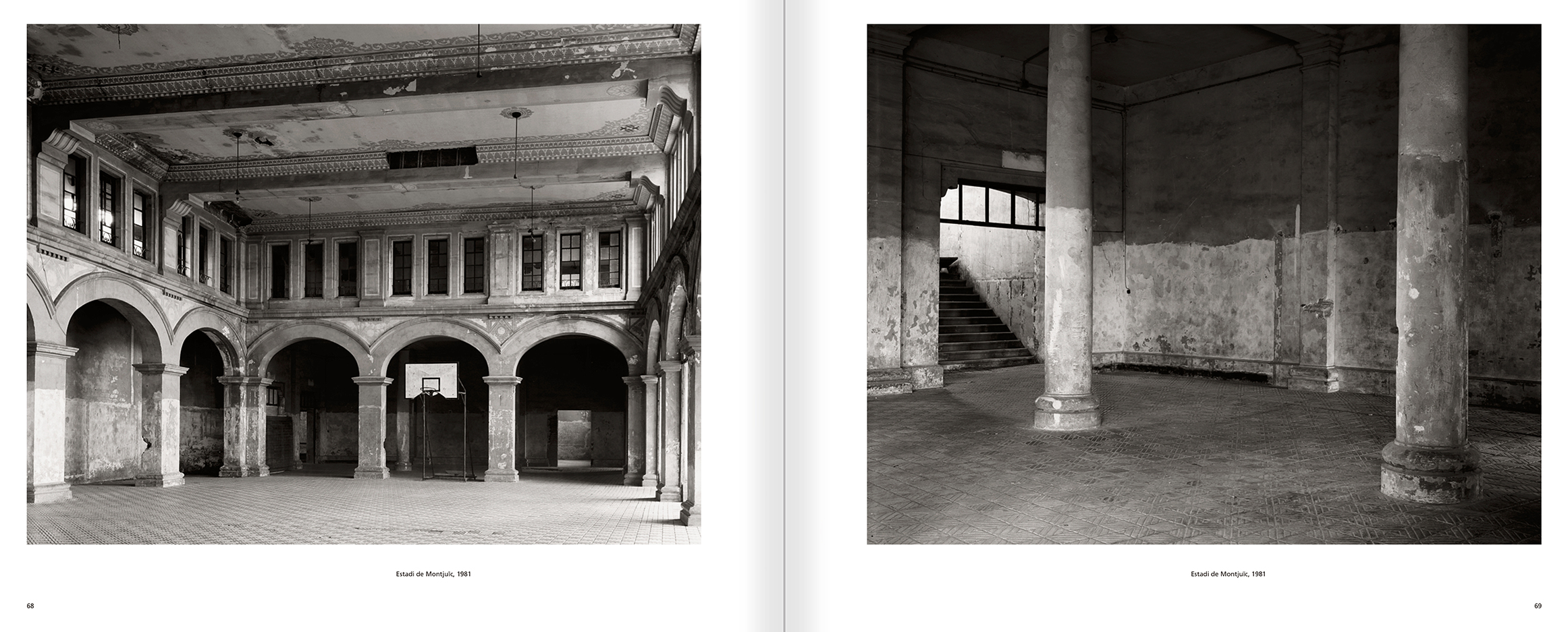 Selection from the catalogue 'Barcelona 1978-1997. Manolo Laguillo', pages 68 and 69