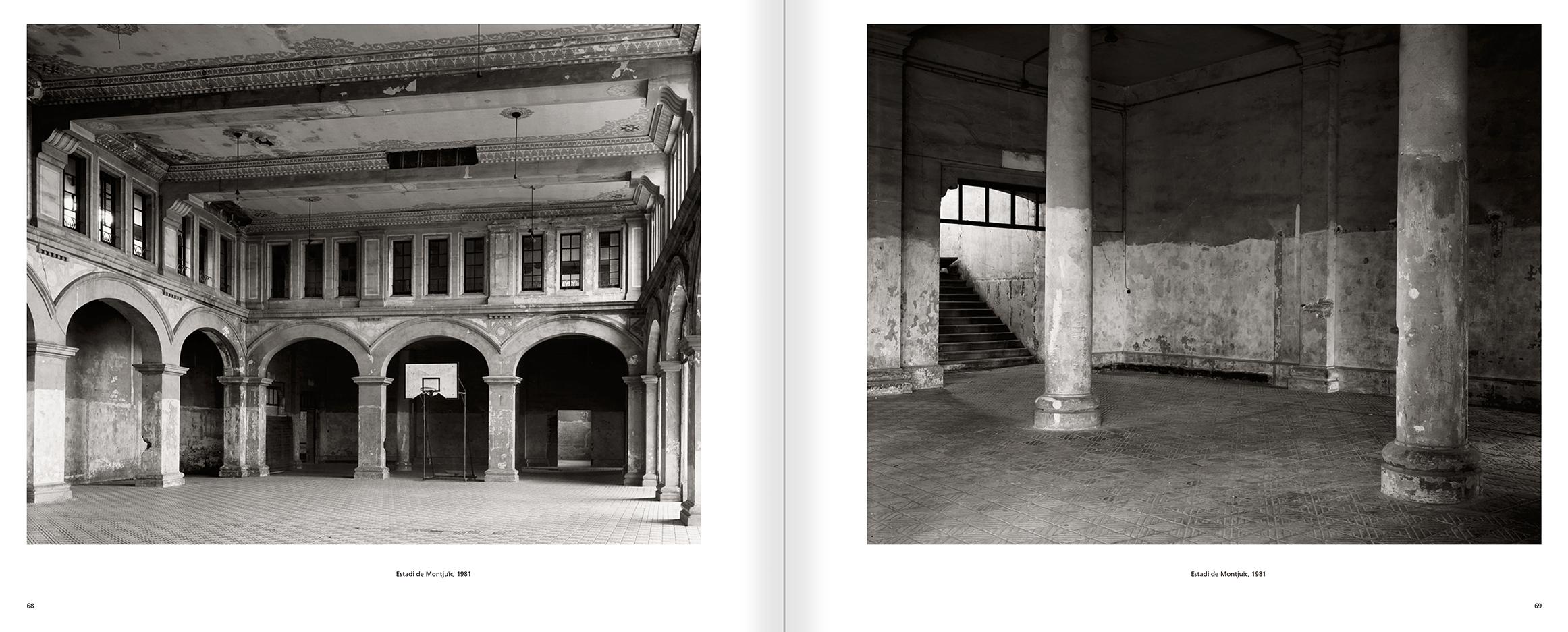 """Selecció del catàleg """"Barcelona 1978-1997. Manolo Laguillo"""" pàgines 68 i 69"""