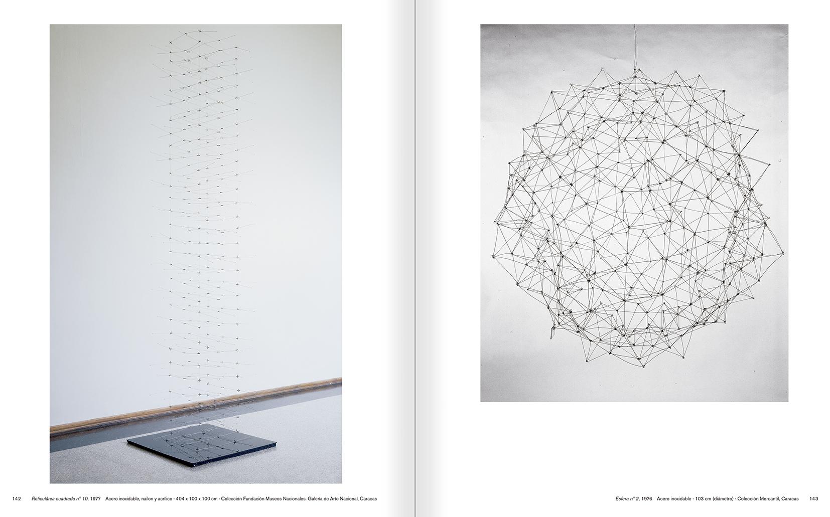 """Selecció del catàleg """"Gego. Desafiando estructuras"""" pàgines 142 i 143"""