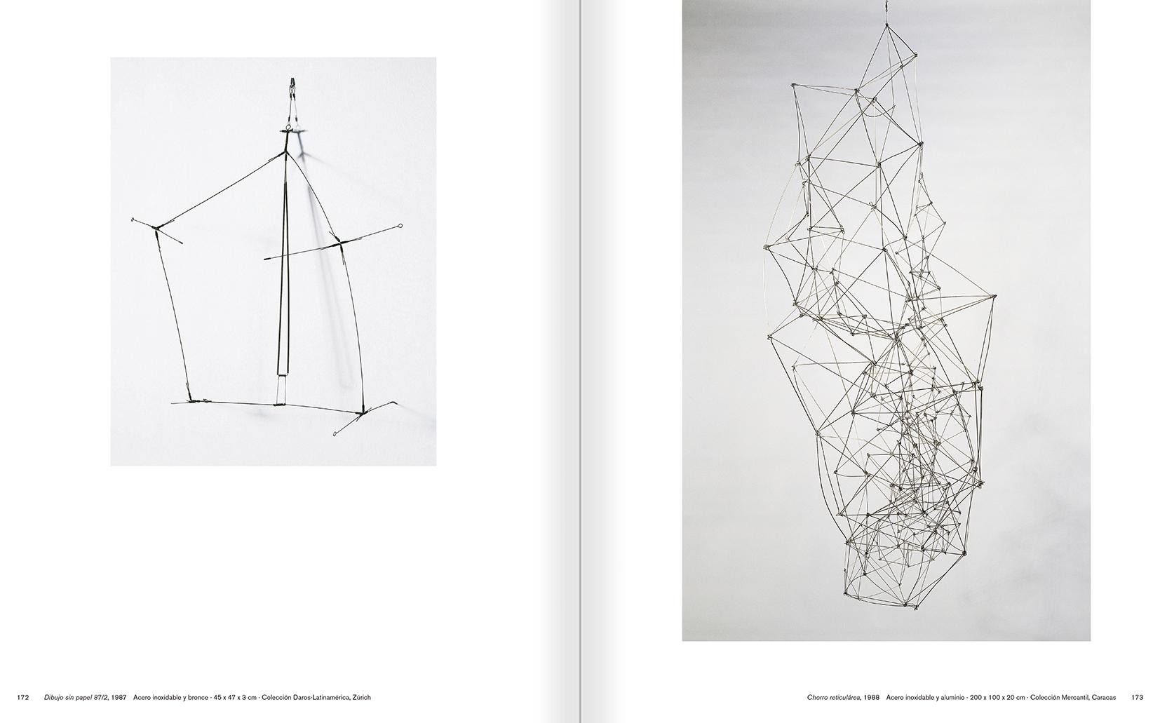 """Selecció del catàleg """"Gego. Desafiando estructuras"""" pàgines 172 i 173"""