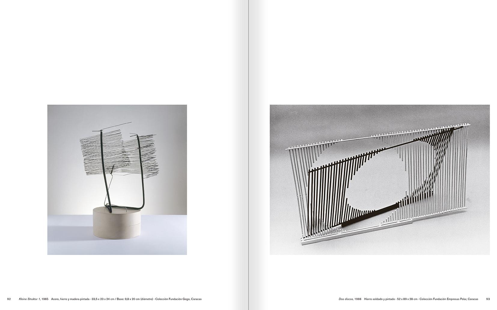 """Selecció del catàleg """"Gego. Desafiando estructuras"""" pàgines 92 i 93"""
