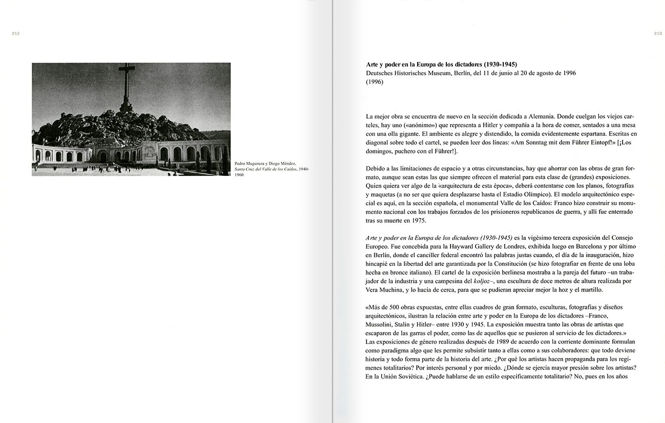 Selection from the catalogue 'Peter Friedl: Work 1964-2006', pages 212 and 213
