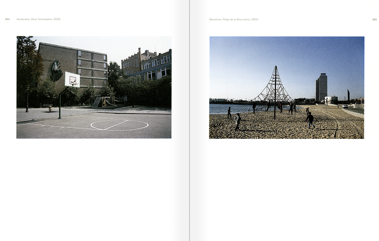 Selection from the catalogue 'Peter Friedl: Work 1964-2006', pages 304 and 305