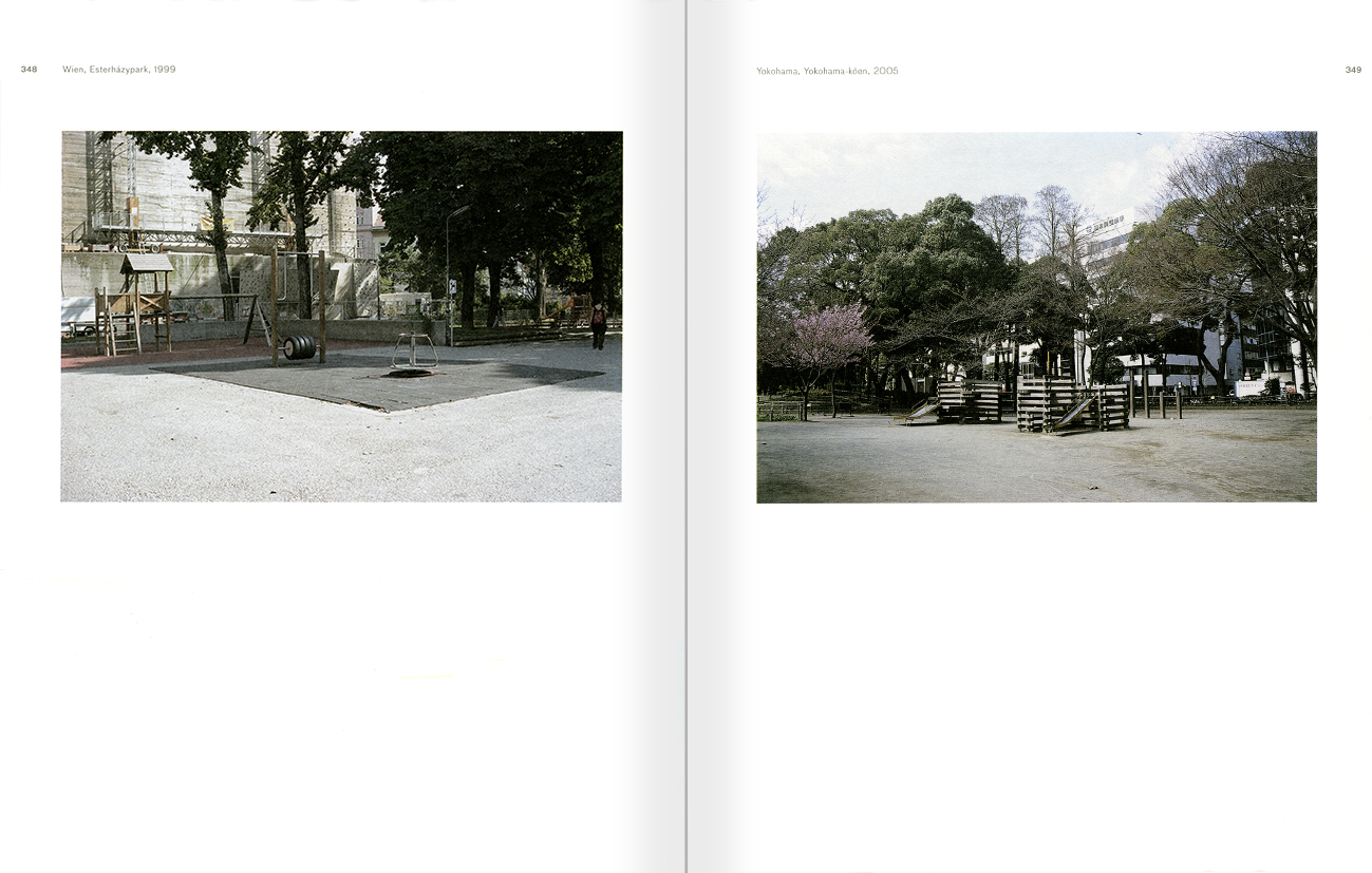 Selection from the catalogue 'Peter Friedl: Work 1964-2006', pages 348 and 349