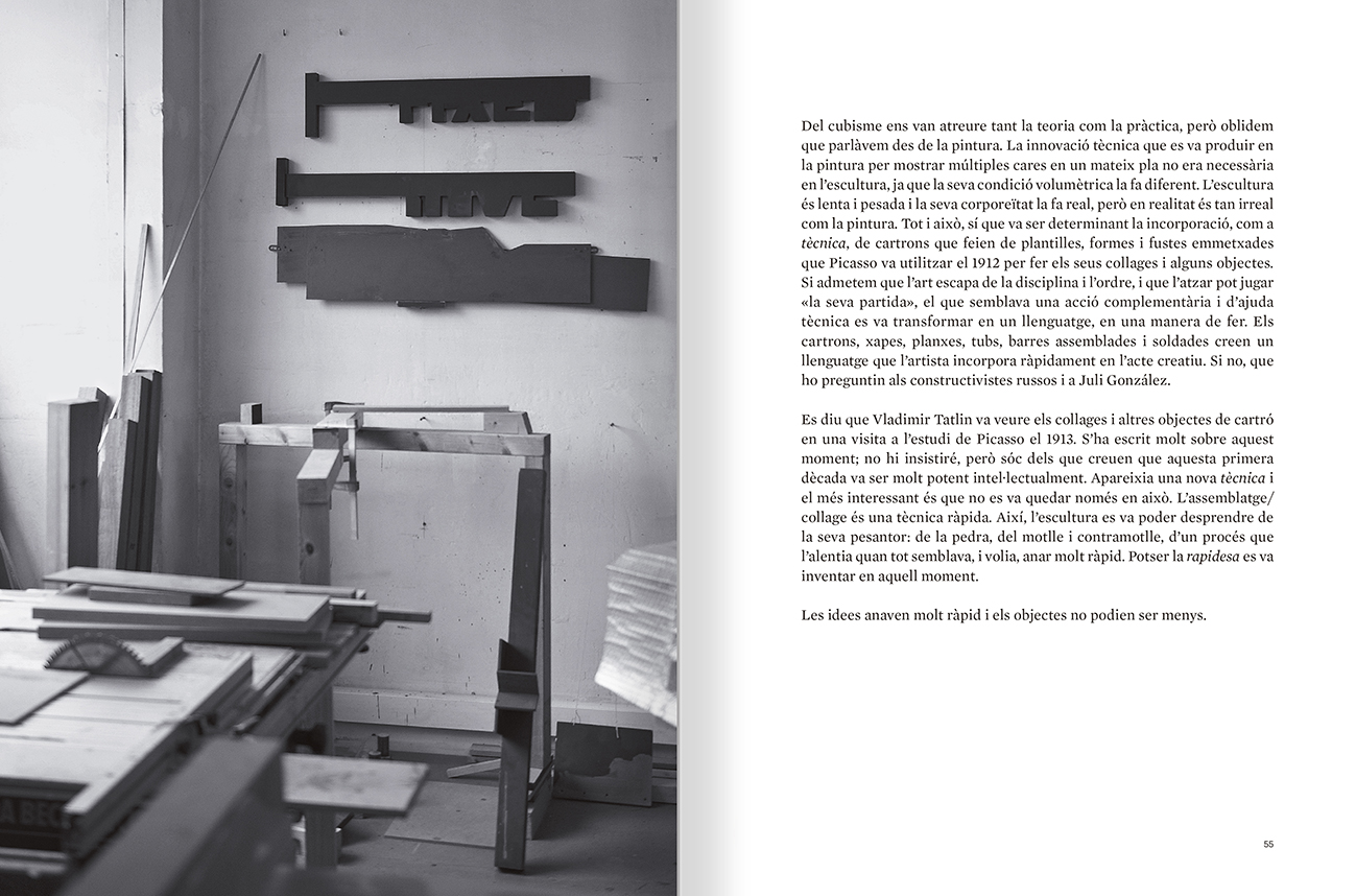 Selection from the catalogue 'Sergi Aguilar. Revers anvers', pages 54 and 55