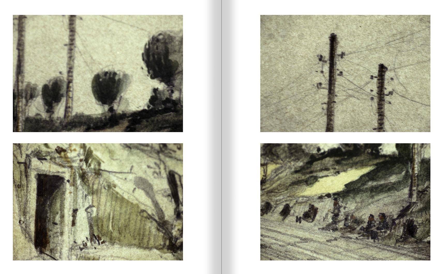 """Selecció del catàleg """"Francesc Torres. Da capo"""" pàgines 208 i 209"""