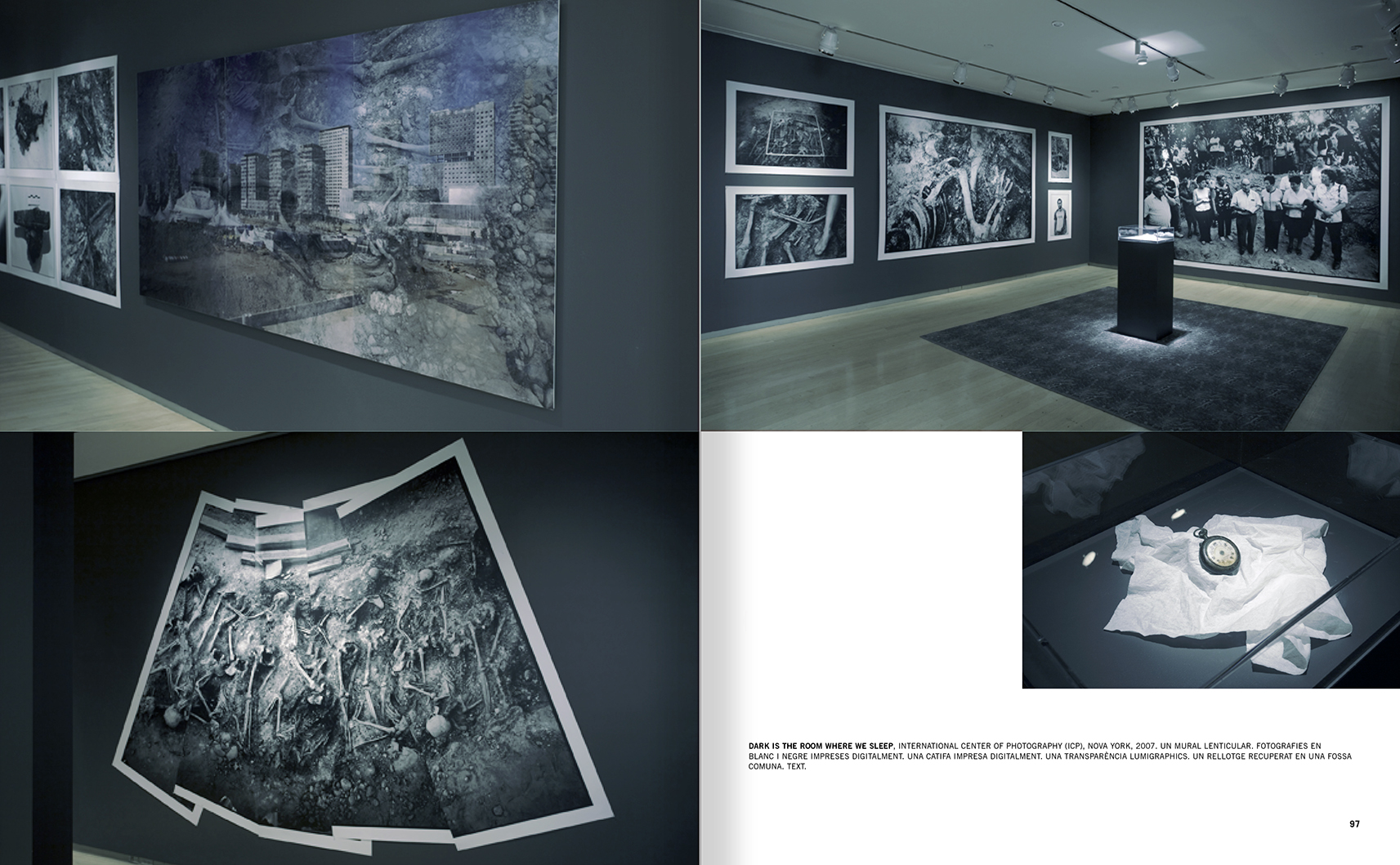 Selection from the catalogue 'Francesc Torres. Da capo', pages 96 and 97