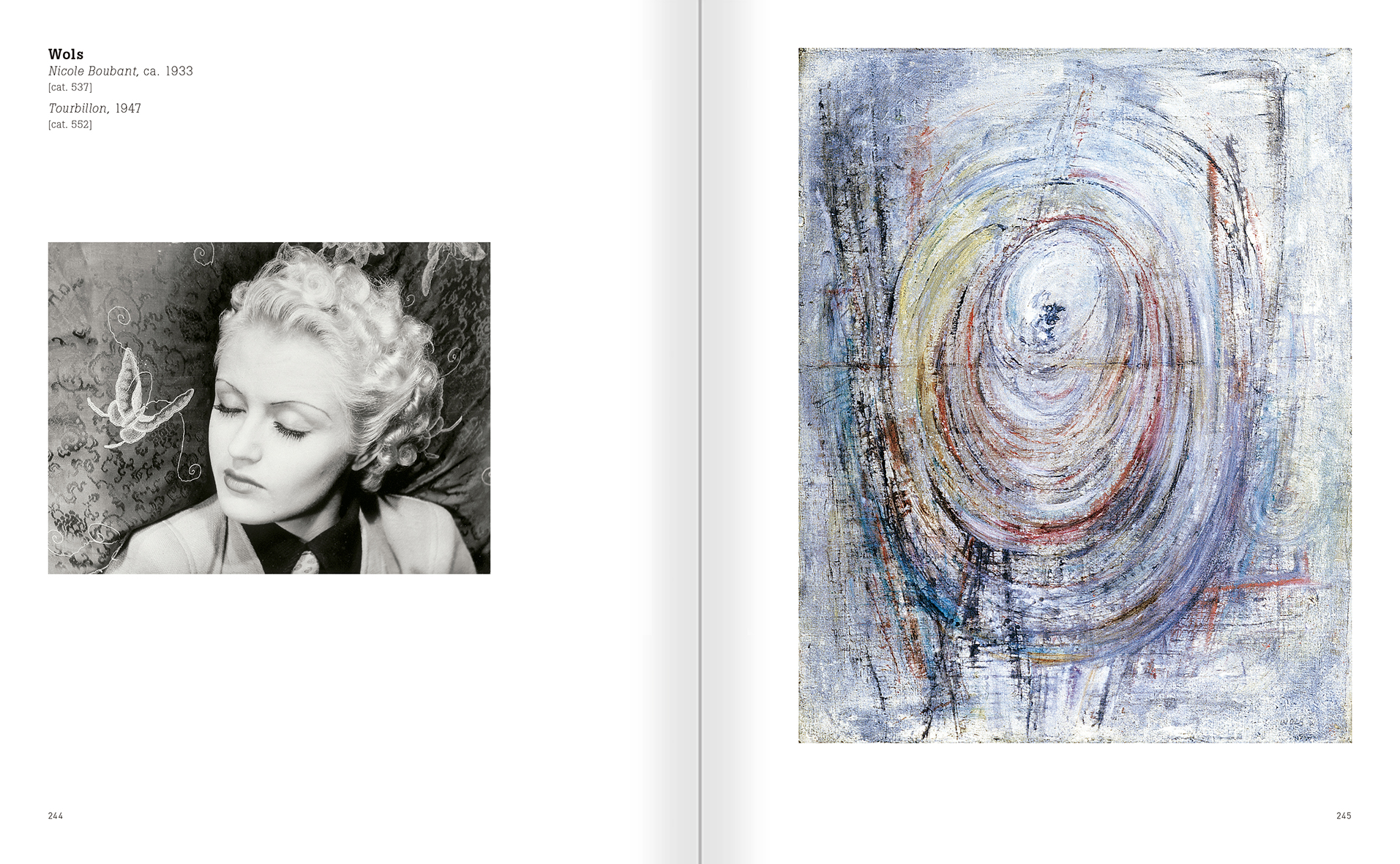 Selection from the catalogue 'Nancy Spero. Dissidances', pages 244 and 245
