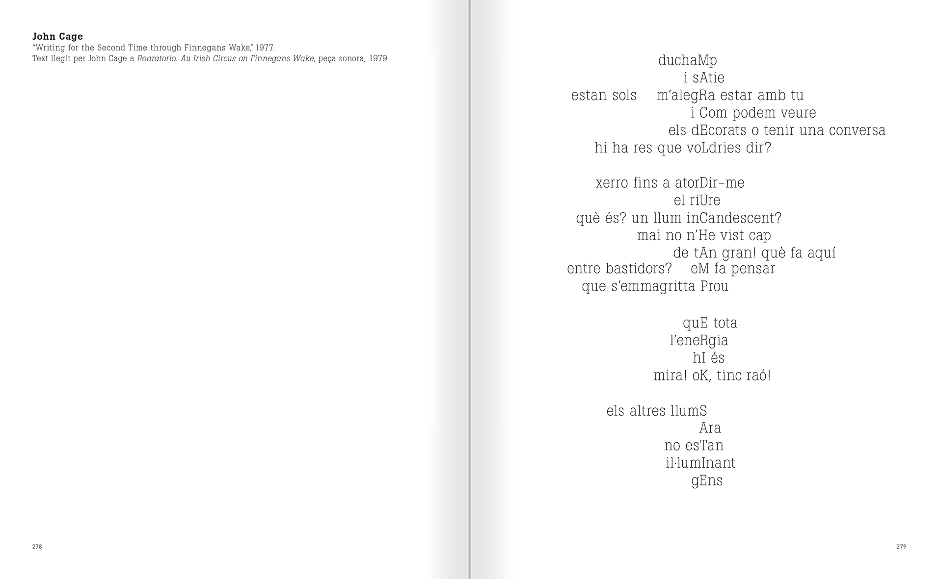 Selection from the catalogue 'Nancy Spero. Dissidances', pages 278 and 279