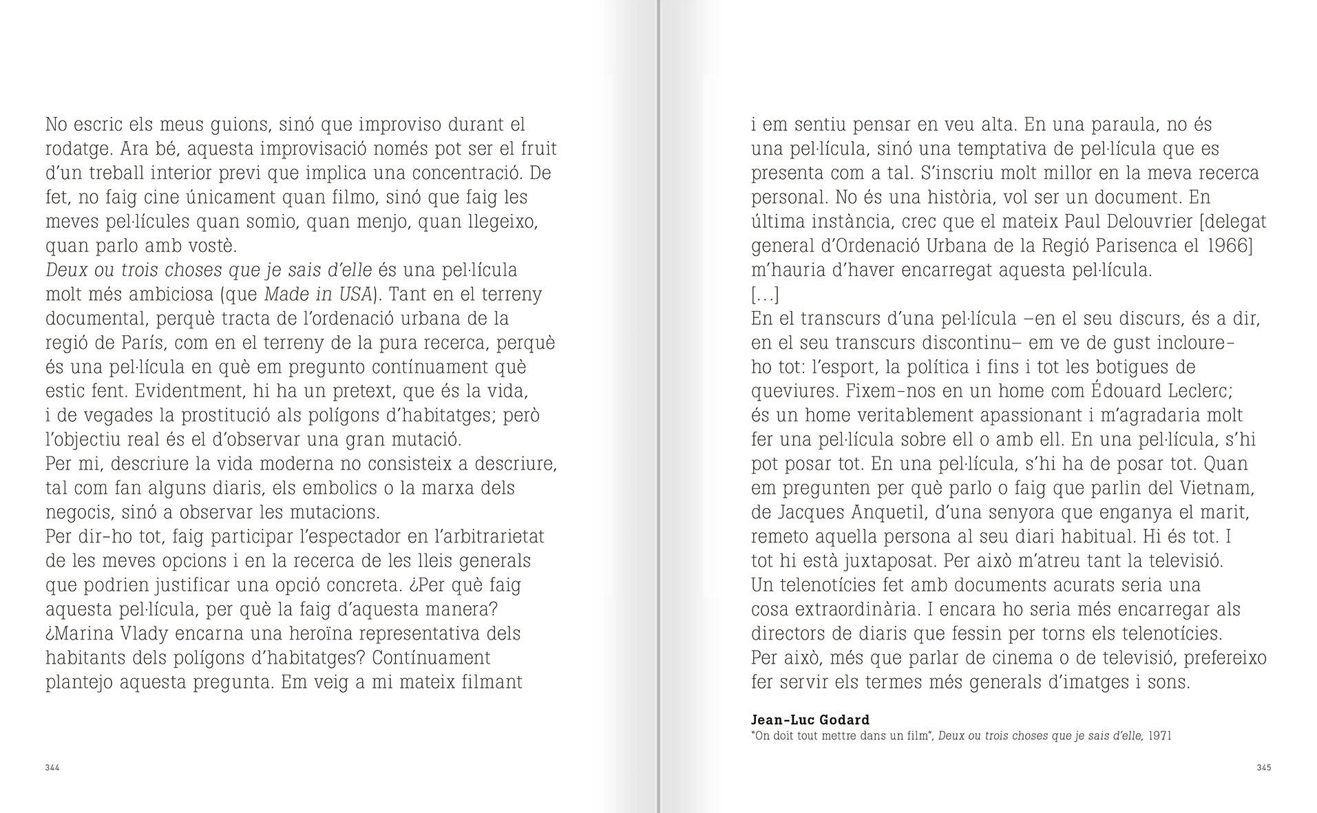 Selection from the catalogue 'Nancy Spero. Dissidances', pages 344 and 345