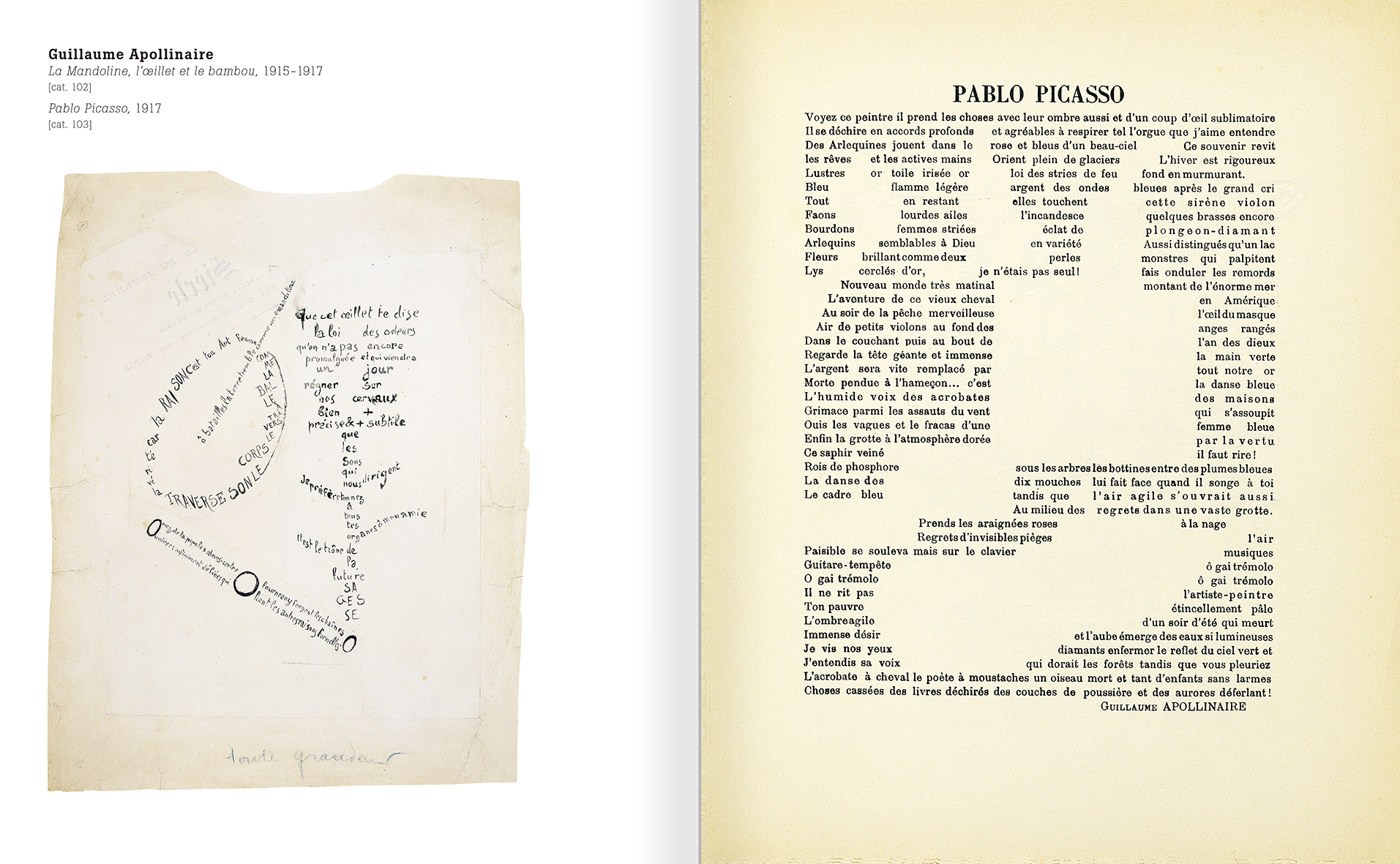 Selection from the catalogue 'Nancy Spero. Dissidances', pages 94 and 95