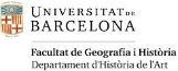 Universitat de Barcelona. Departament d'Història de l'Art de la Facultat de Geografia i Història