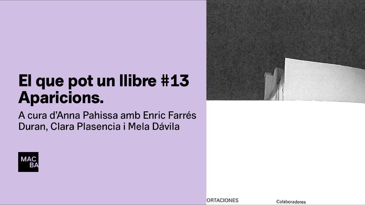 El que pot un llibre #13. Aparicions. Enric Farrés Duran