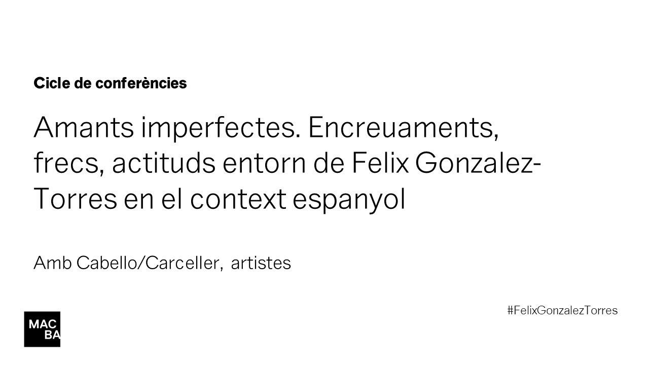 La performance de lo político | Cabello/Carceller